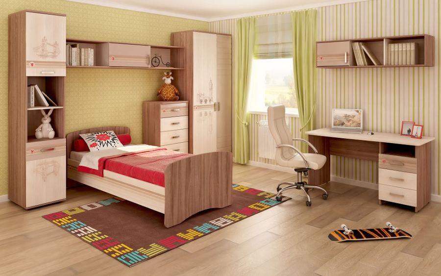 Мебель для молодежной комнаты «Британия»