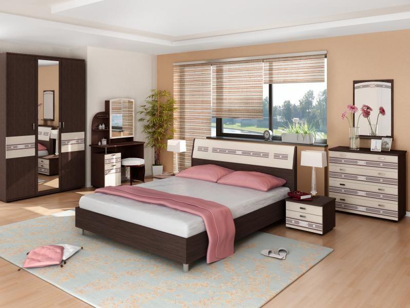 Модульная спальня «Ривьера»